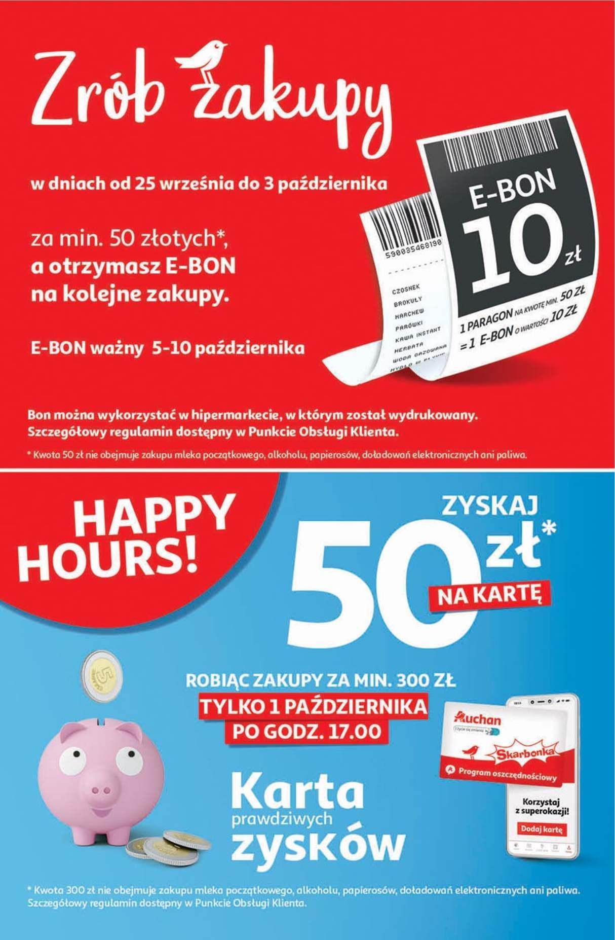 Gazetka promocyjna Auchan do 07/10/2020 str.1