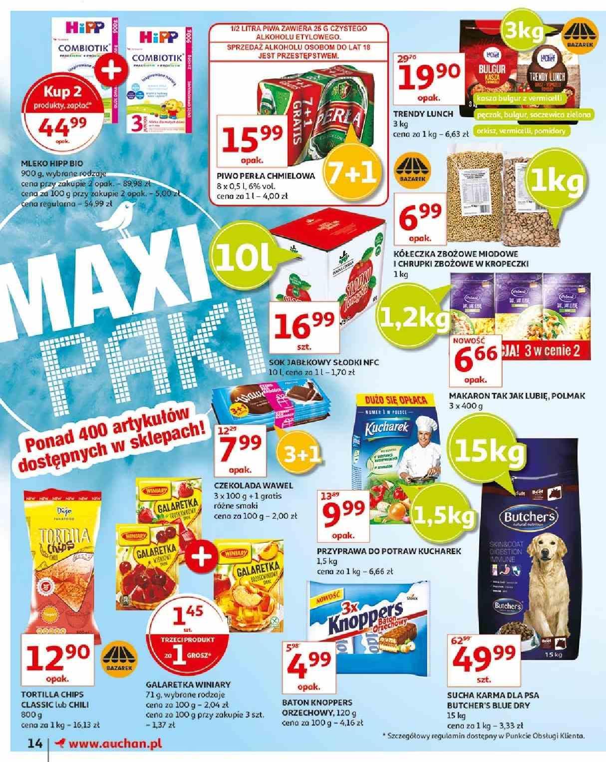Gazetka promocyjna Auchan do 15/05/2019 str.14