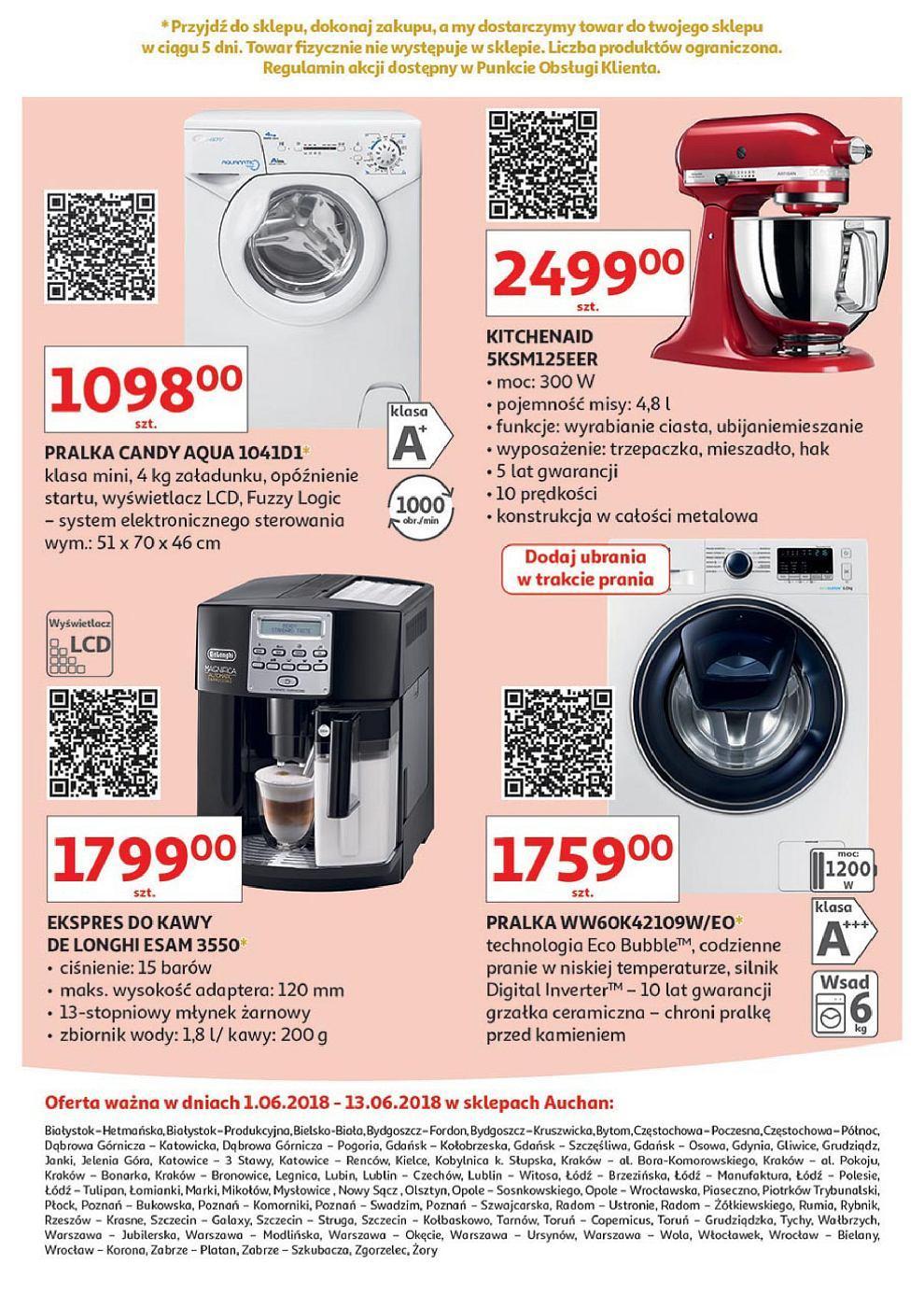 Gazetka promocyjna Auchan do 13/06/2018 str.16