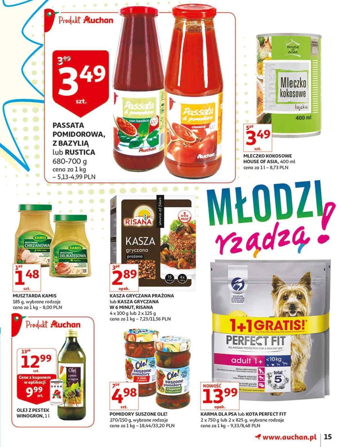 Gazetka promocyjna Auchan do 14/08/2018 str.15