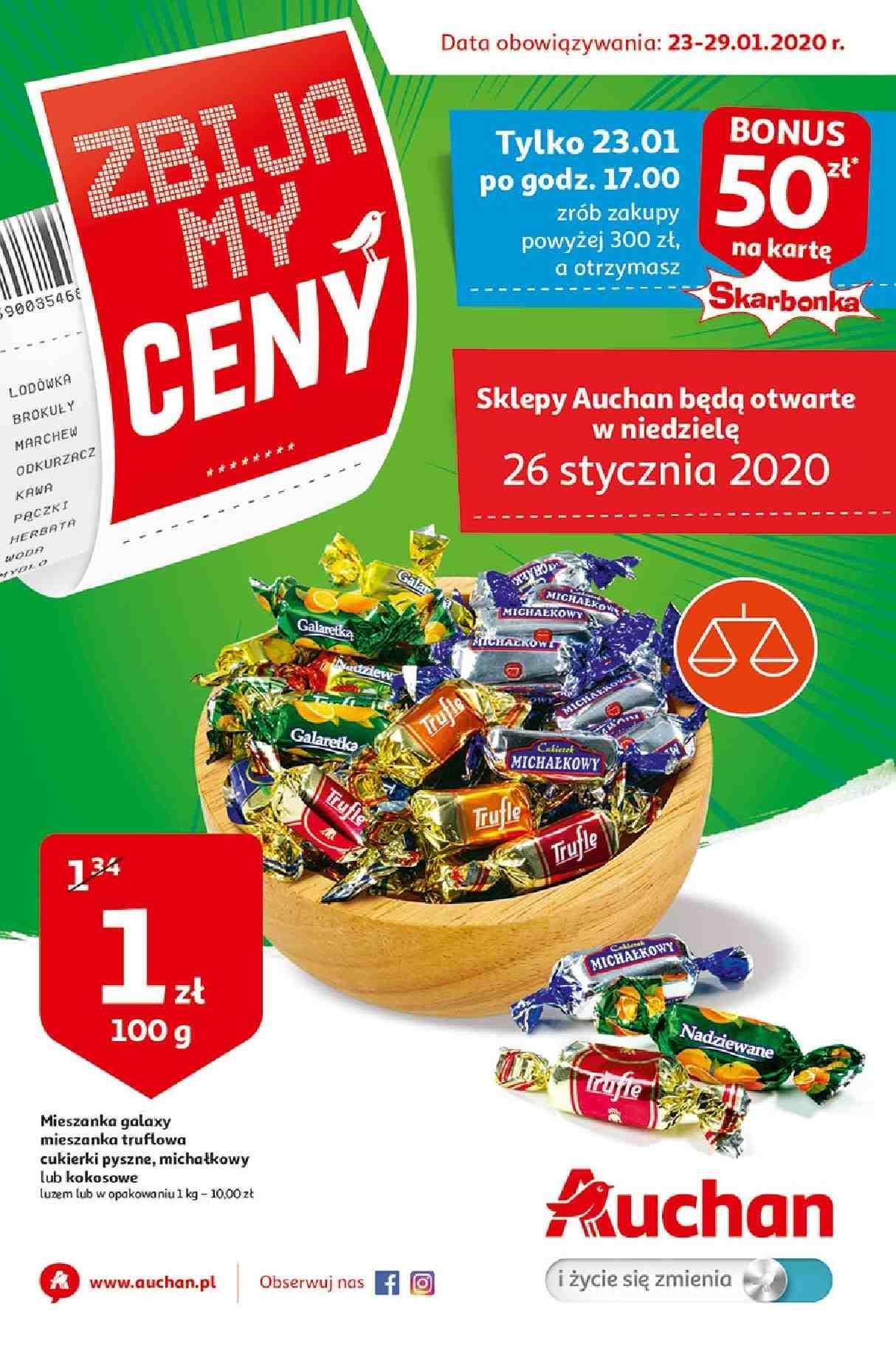 Gazetka promocyjna Auchan do 29/01/2020 str.1