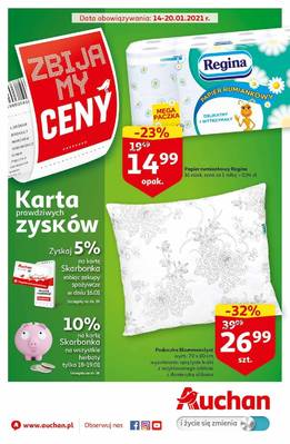Auchan gazetka - od 14/01/2021 do 20/01/2021