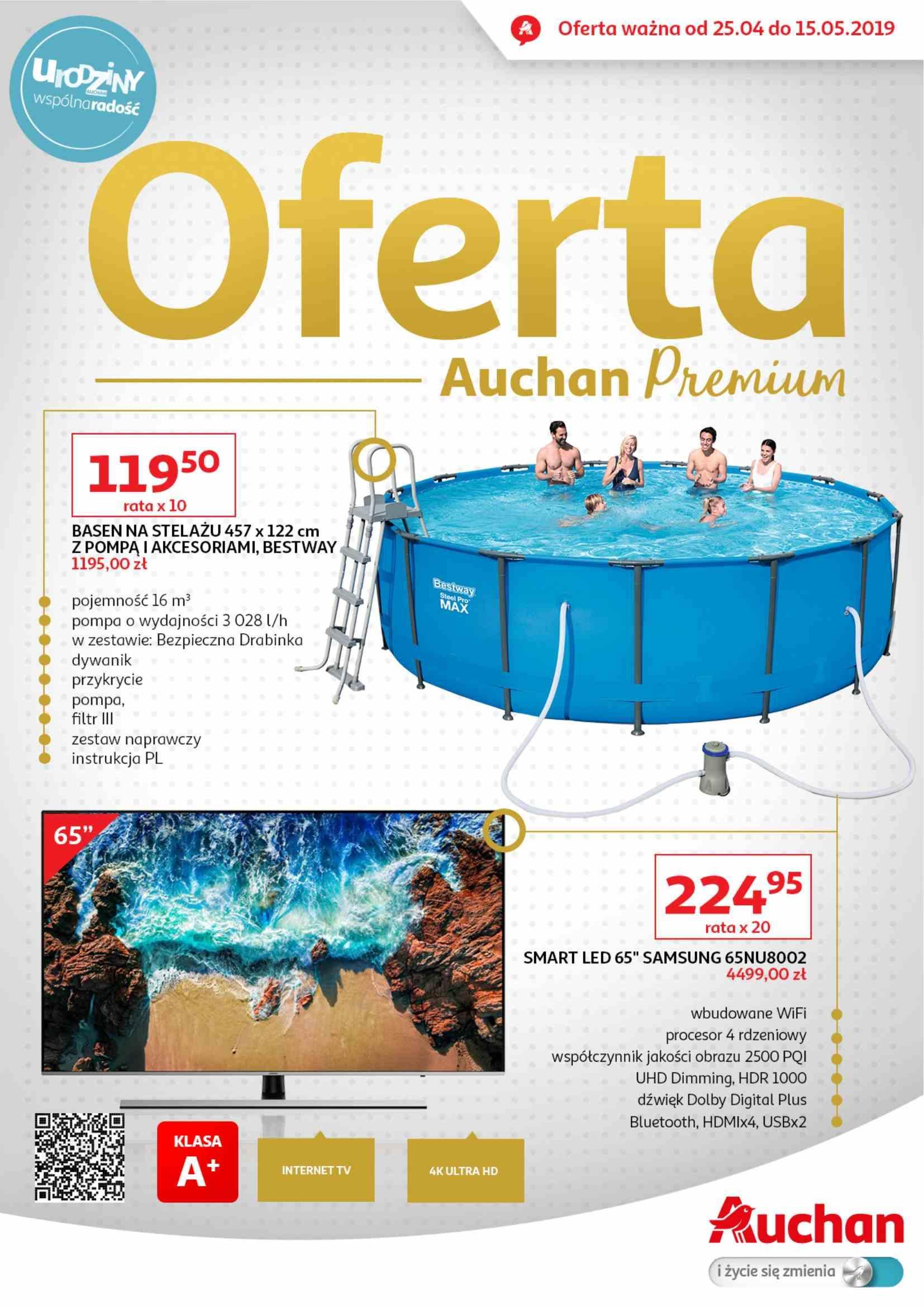 Gazetka promocyjna Auchan do 15/05/2019 str.1