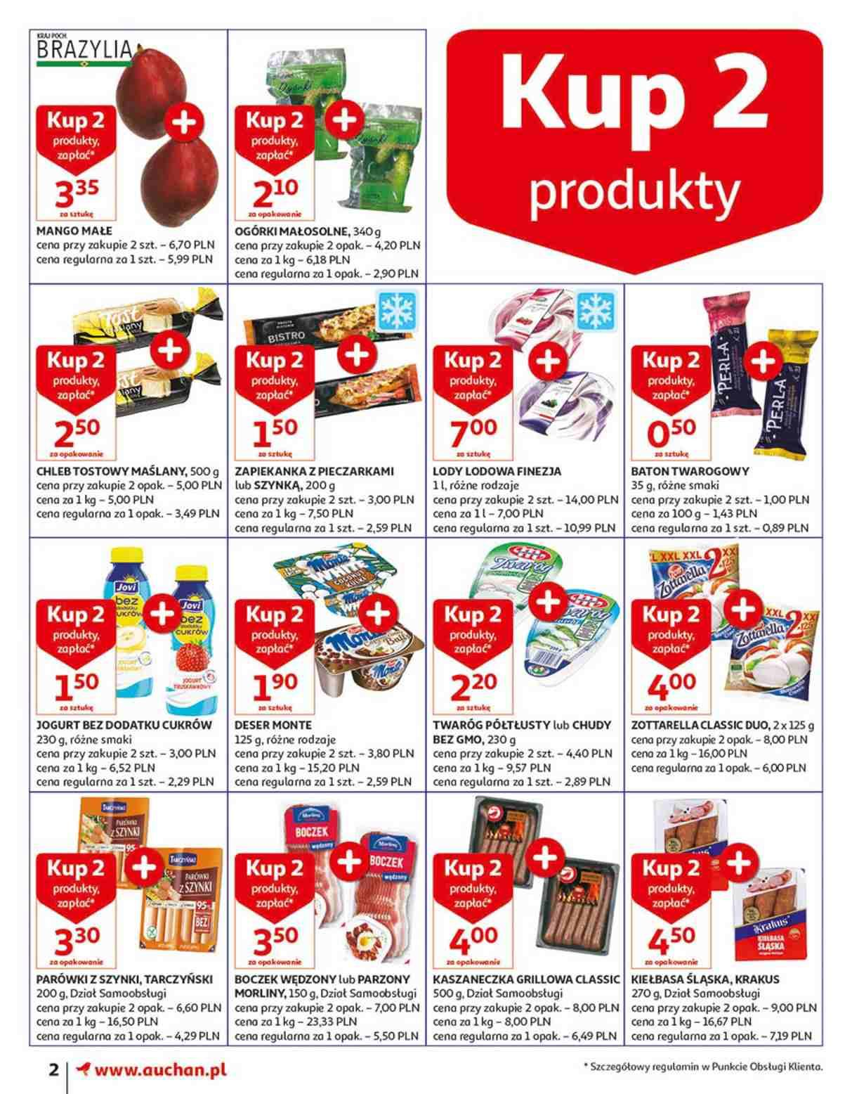 Gazetka promocyjna Auchan do 14/08/2018 str.2