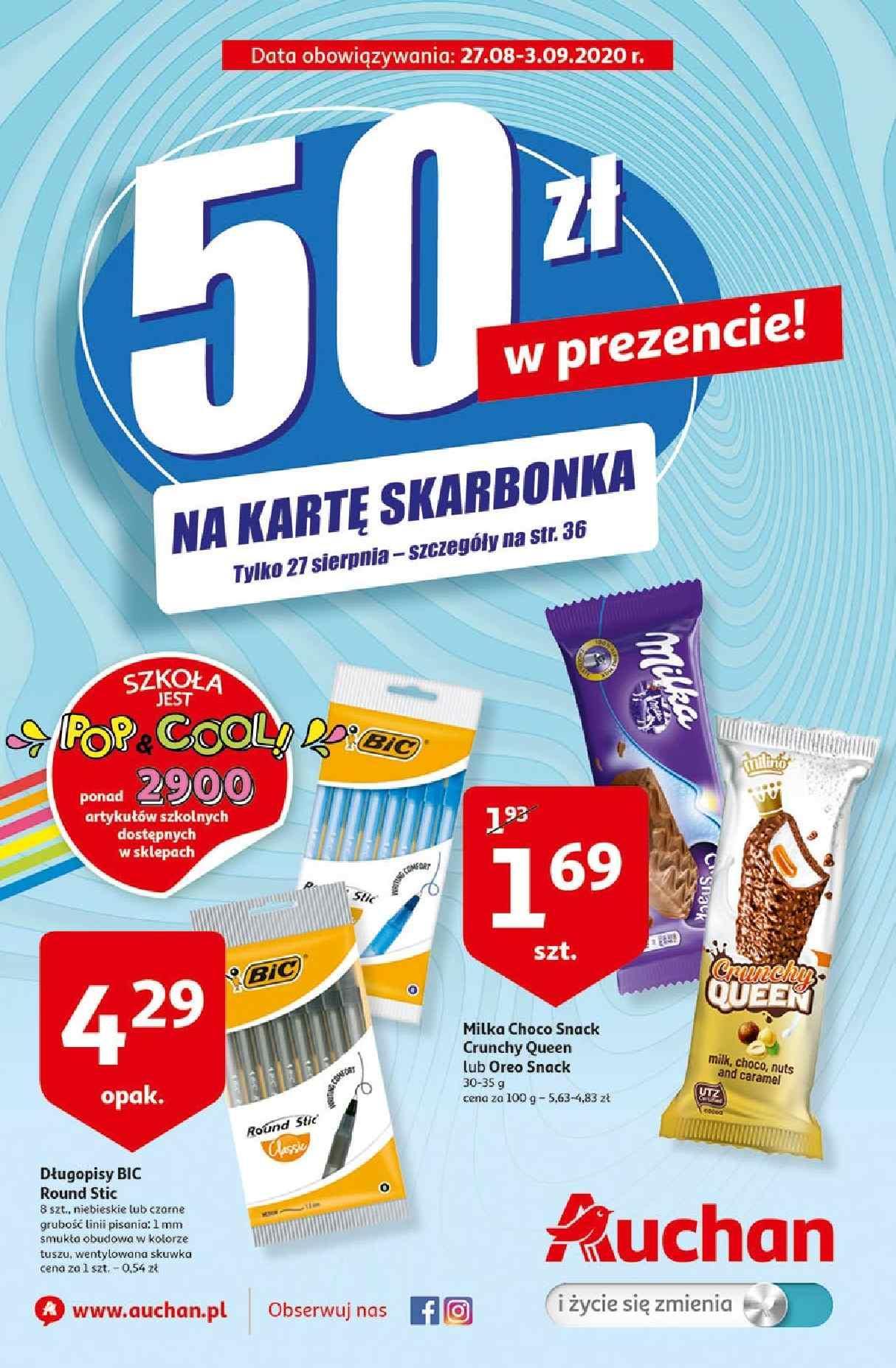 Gazetka promocyjna Auchan do 03/09/2020 str.0