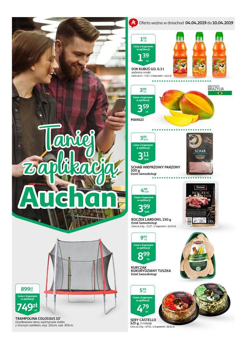 Gazetka promocyjna Auchan do 10/04/2019 str.0
