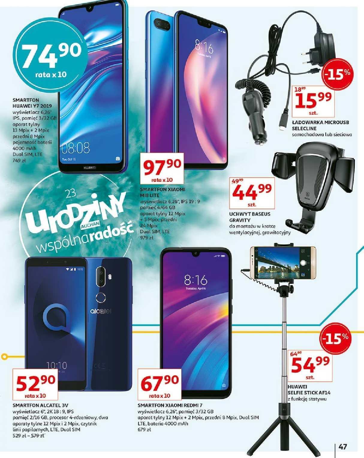 Gazetka promocyjna Auchan do 23/05/2019 str.47