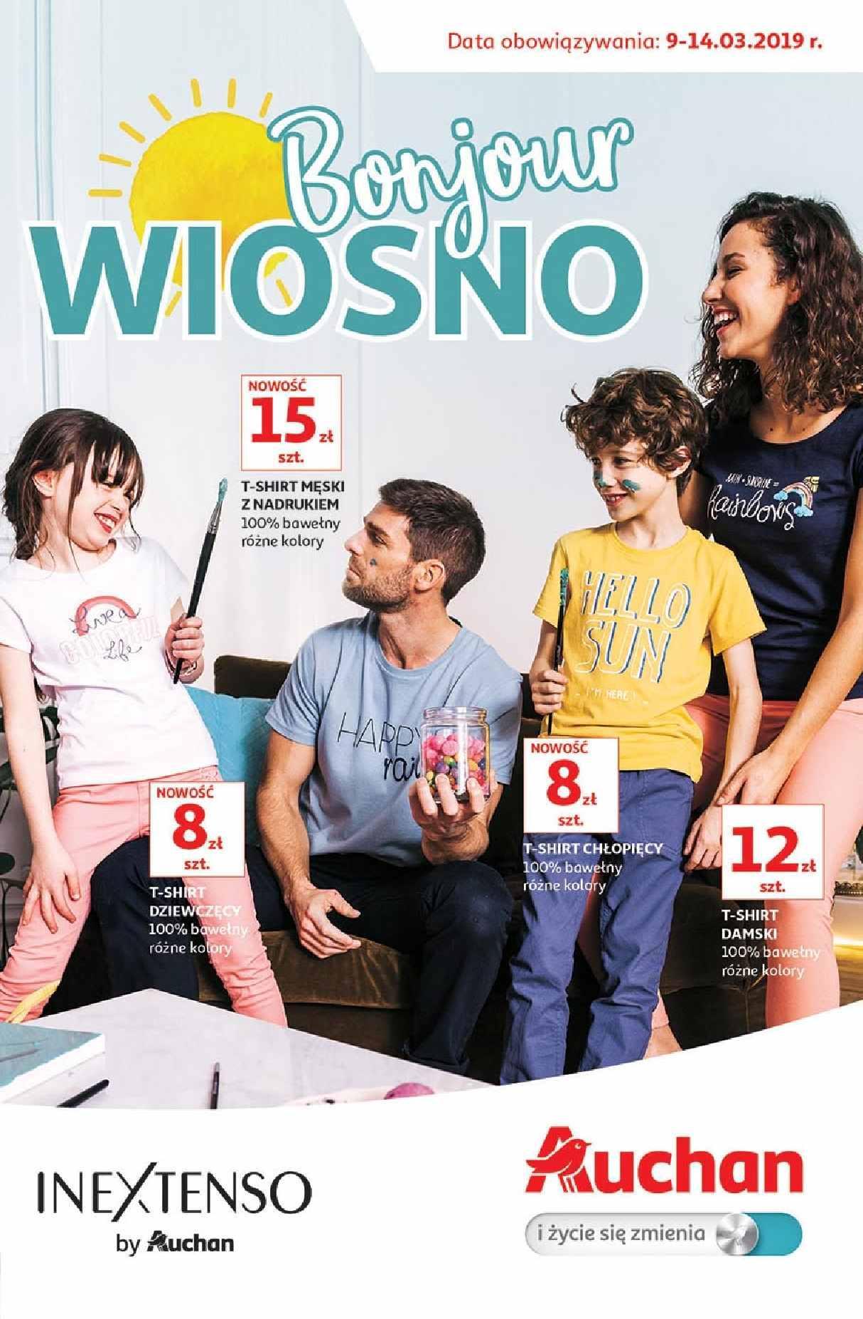 Gazetka promocyjna Auchan do 14/03/2019 str.1