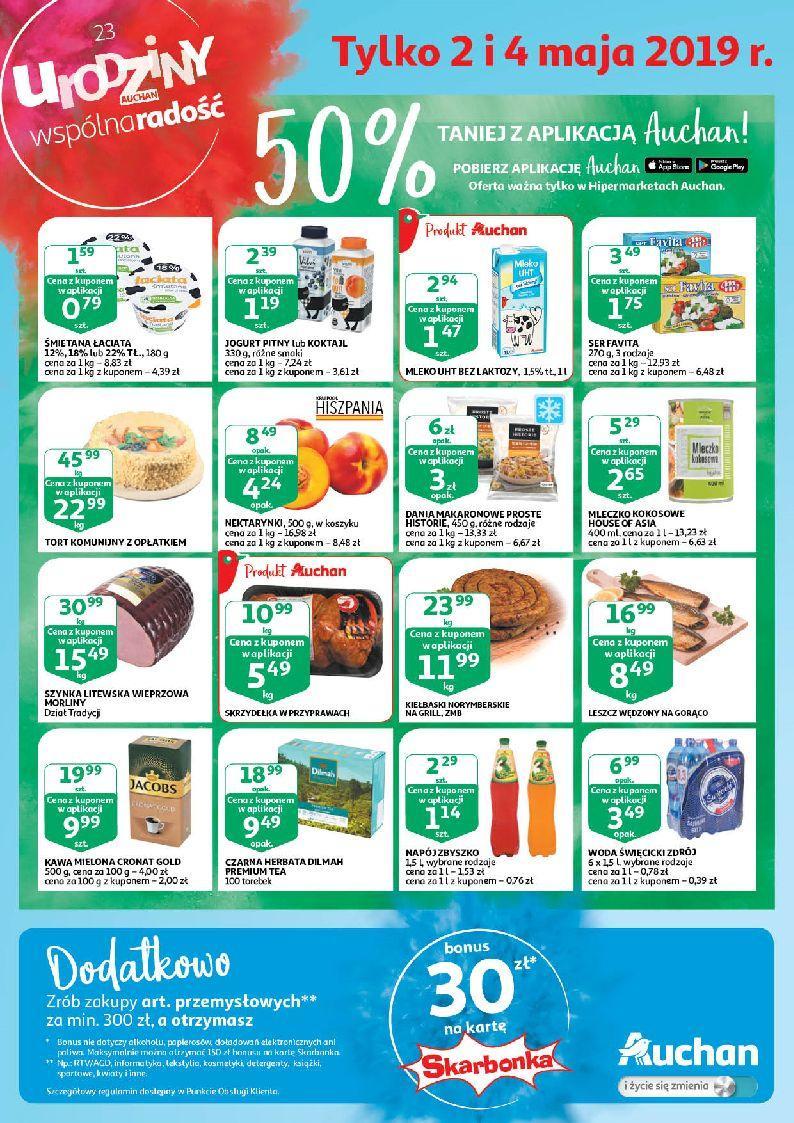 Gazetka promocyjna Auchan do 04/05/2019 str.0