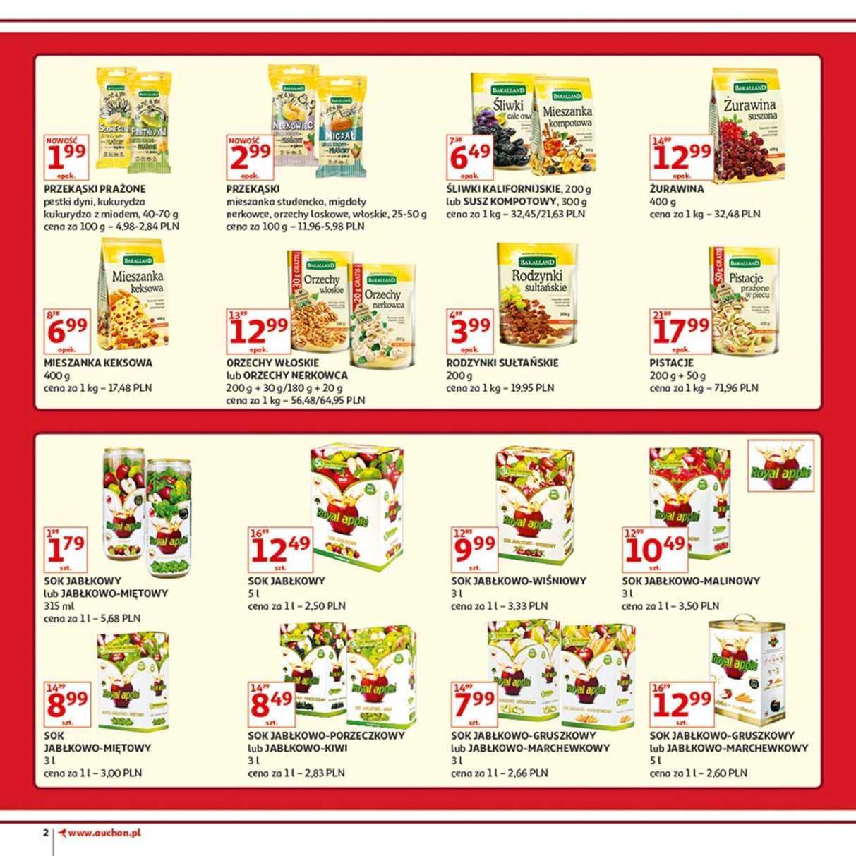 Gazetka promocyjna Auchan do 12/12/2018 str.2
