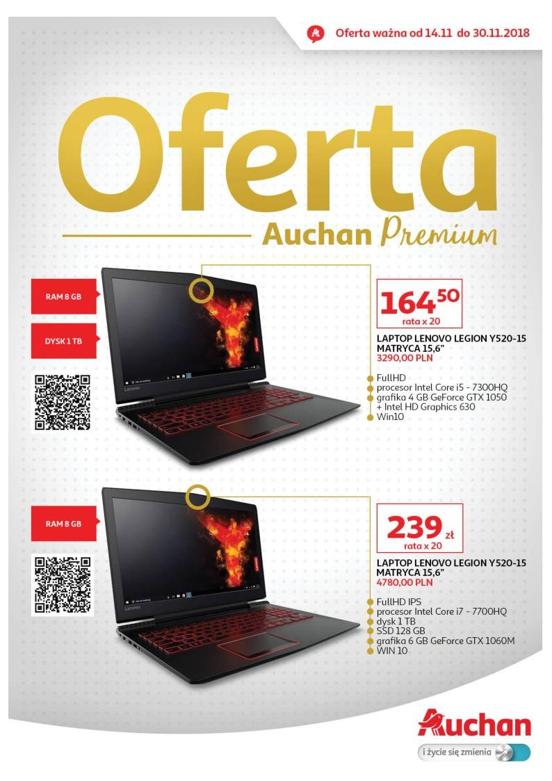 Gazetka promocyjna Auchan do 30/11/2018 str.1