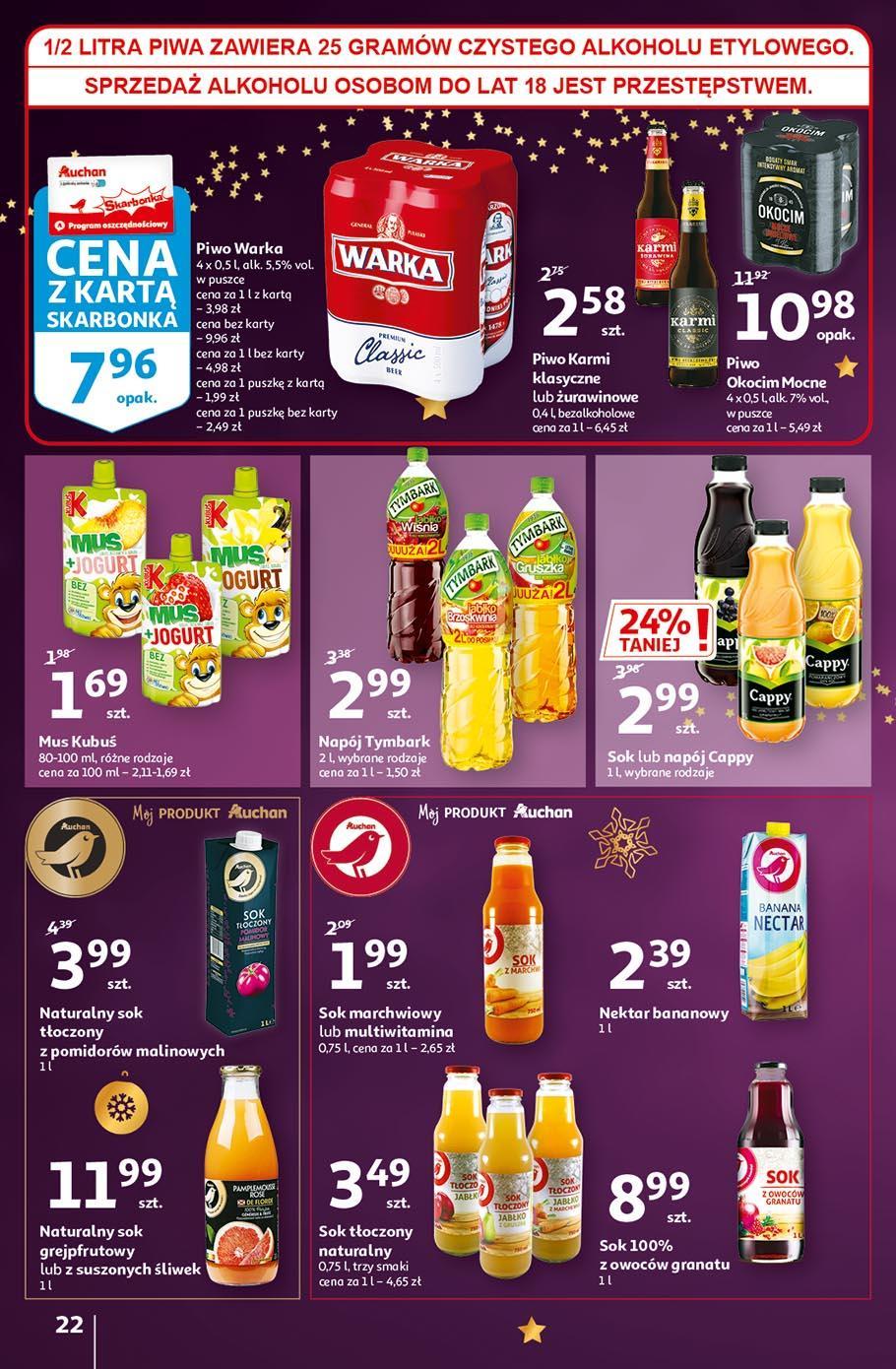 Gazetka promocyjna Auchan do 18/11/2020 str.22