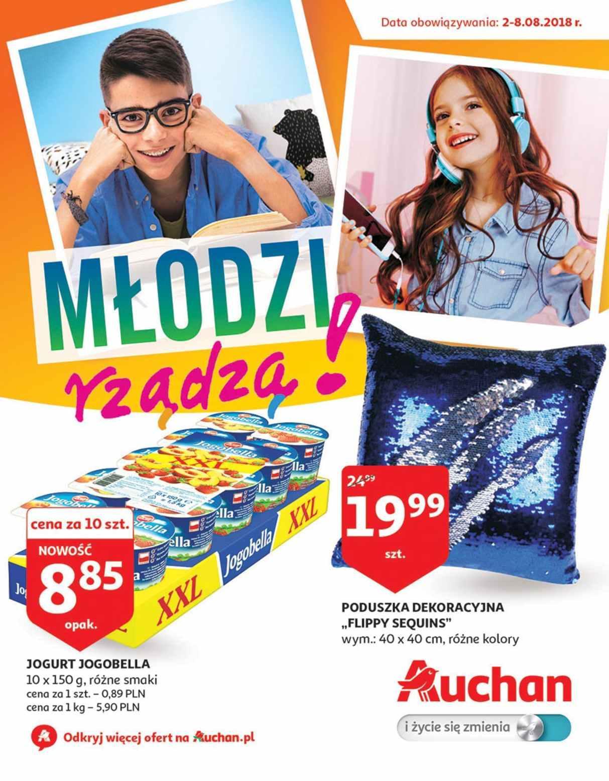 Gazetka promocyjna Auchan do 08/08/2018 str.1