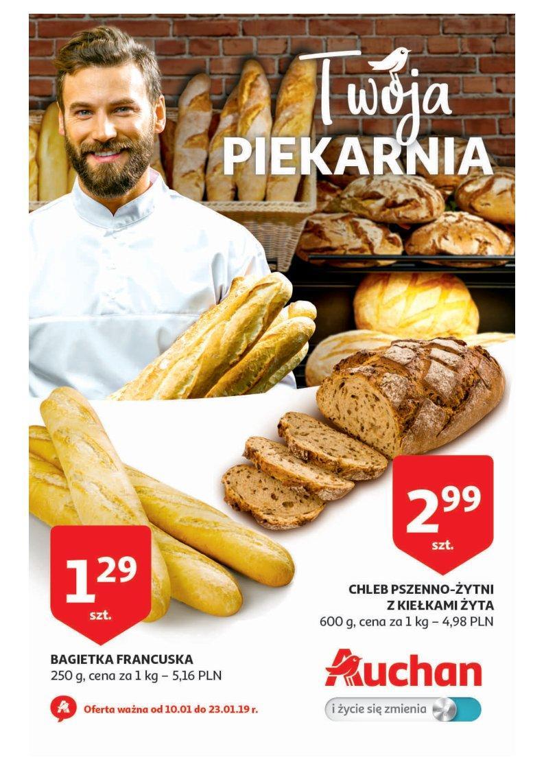 Gazetka promocyjna Auchan do 23/01/2019 str.1