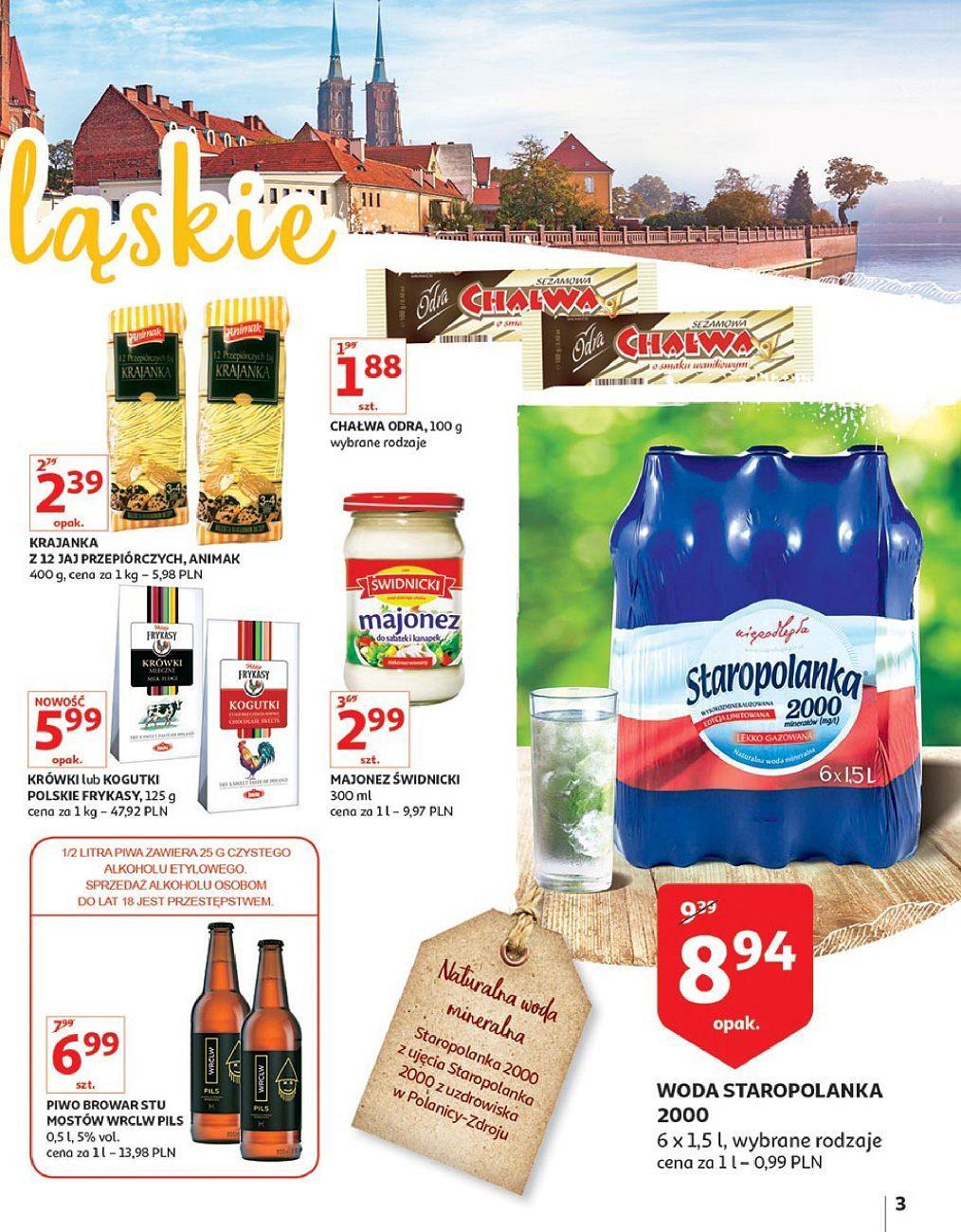 Gazetka promocyjna Auchan do 24/09/2018 str.3