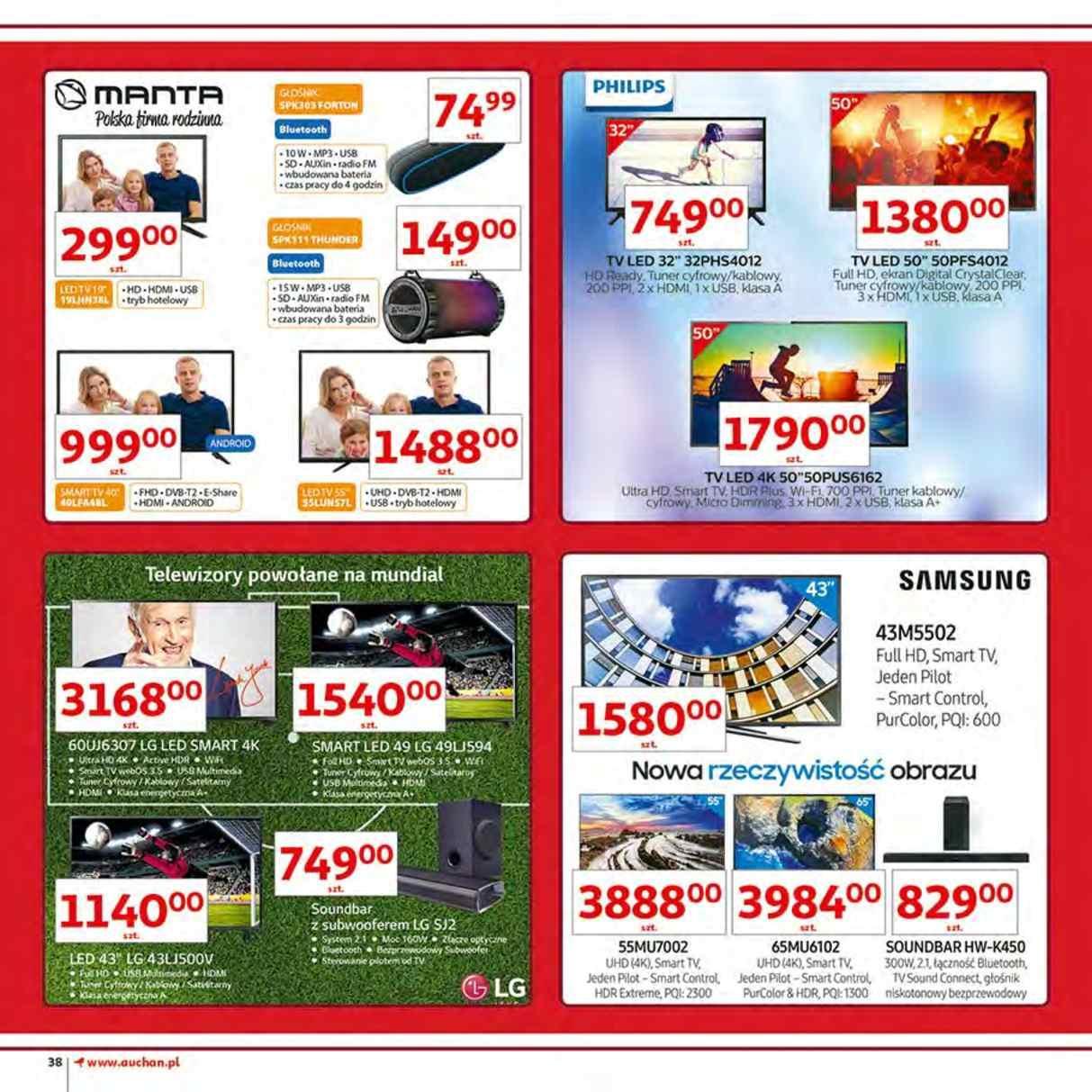 Gazetka promocyjna Auchan do 12/06/2018 str.38