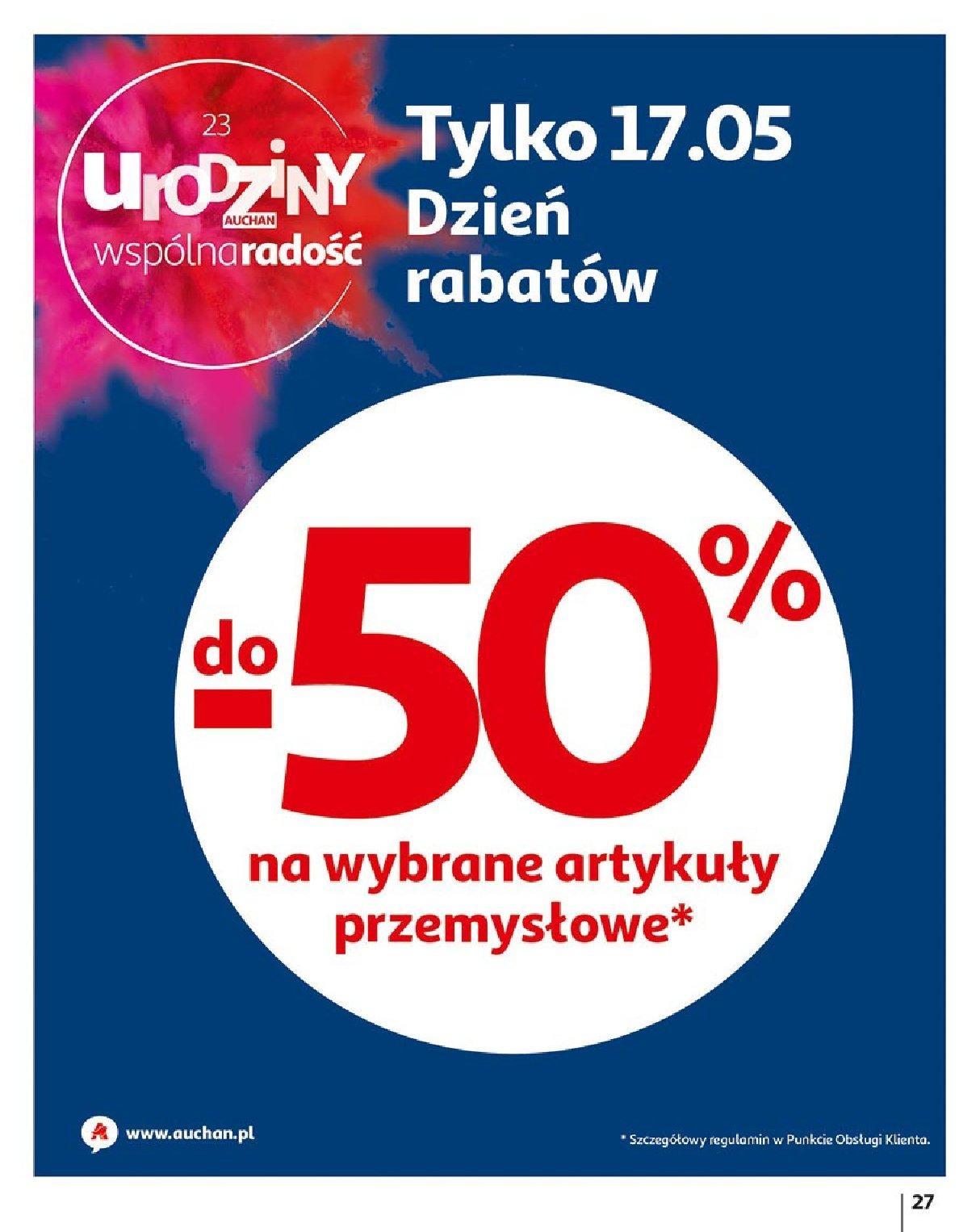 Gazetka promocyjna Auchan do 23/05/2019 str.27