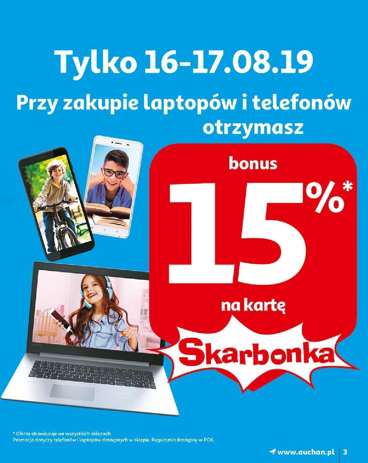 Gazetka promocyjna Auchan do 21/08/2019 str.3
