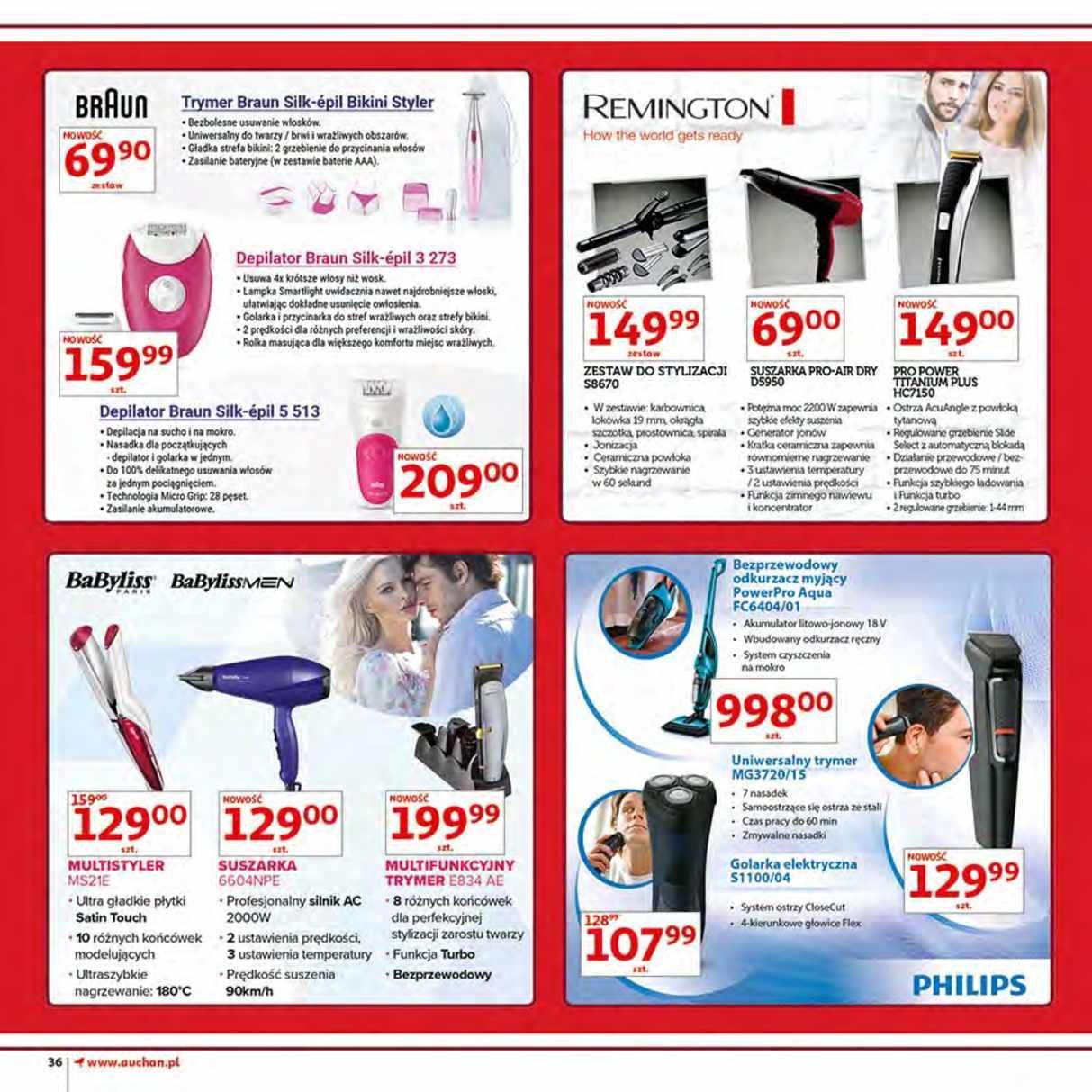 Gazetka promocyjna Auchan do 12/06/2018 str.36