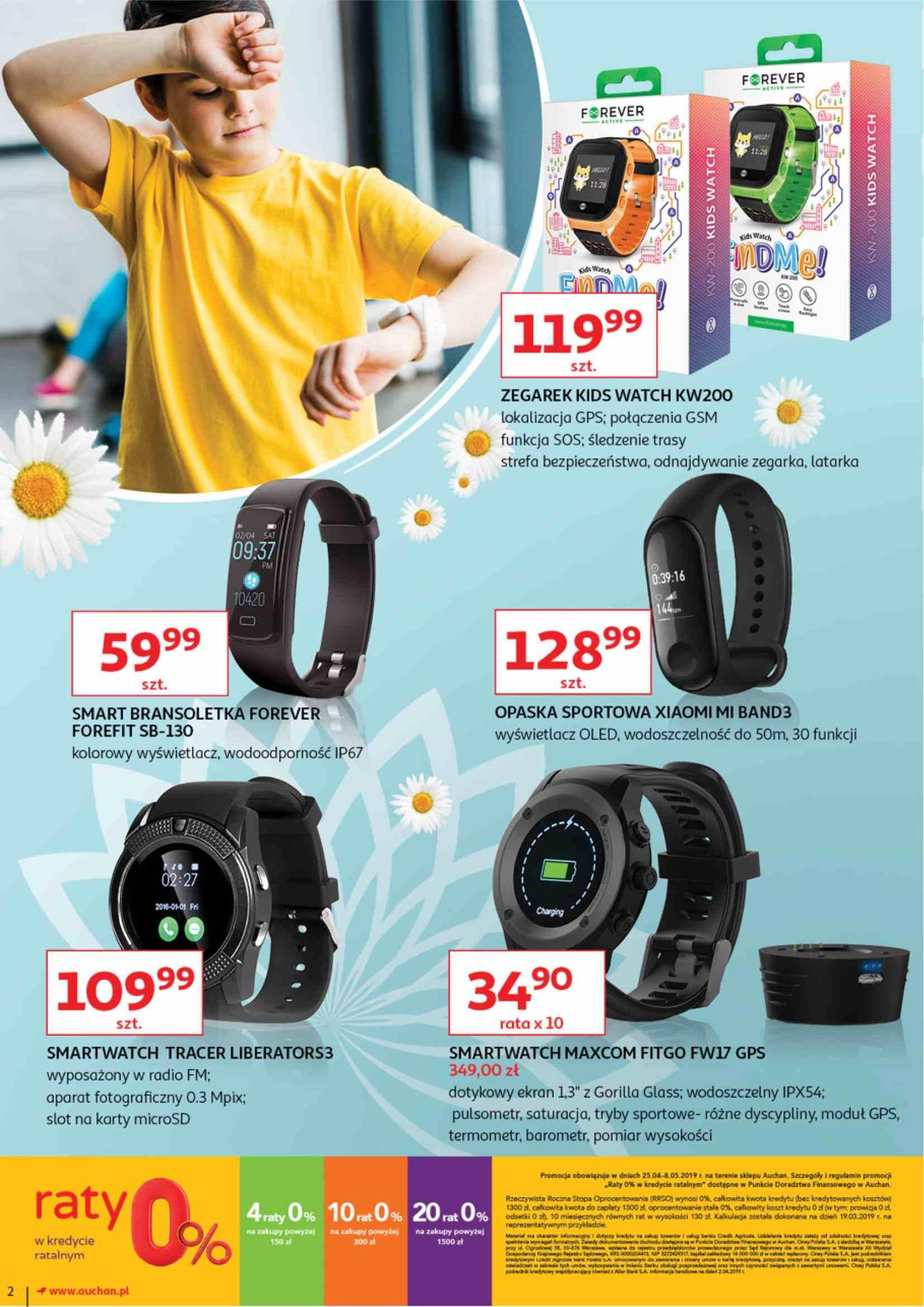 Gazetka promocyjna Auchan do 08/05/2019 str.1