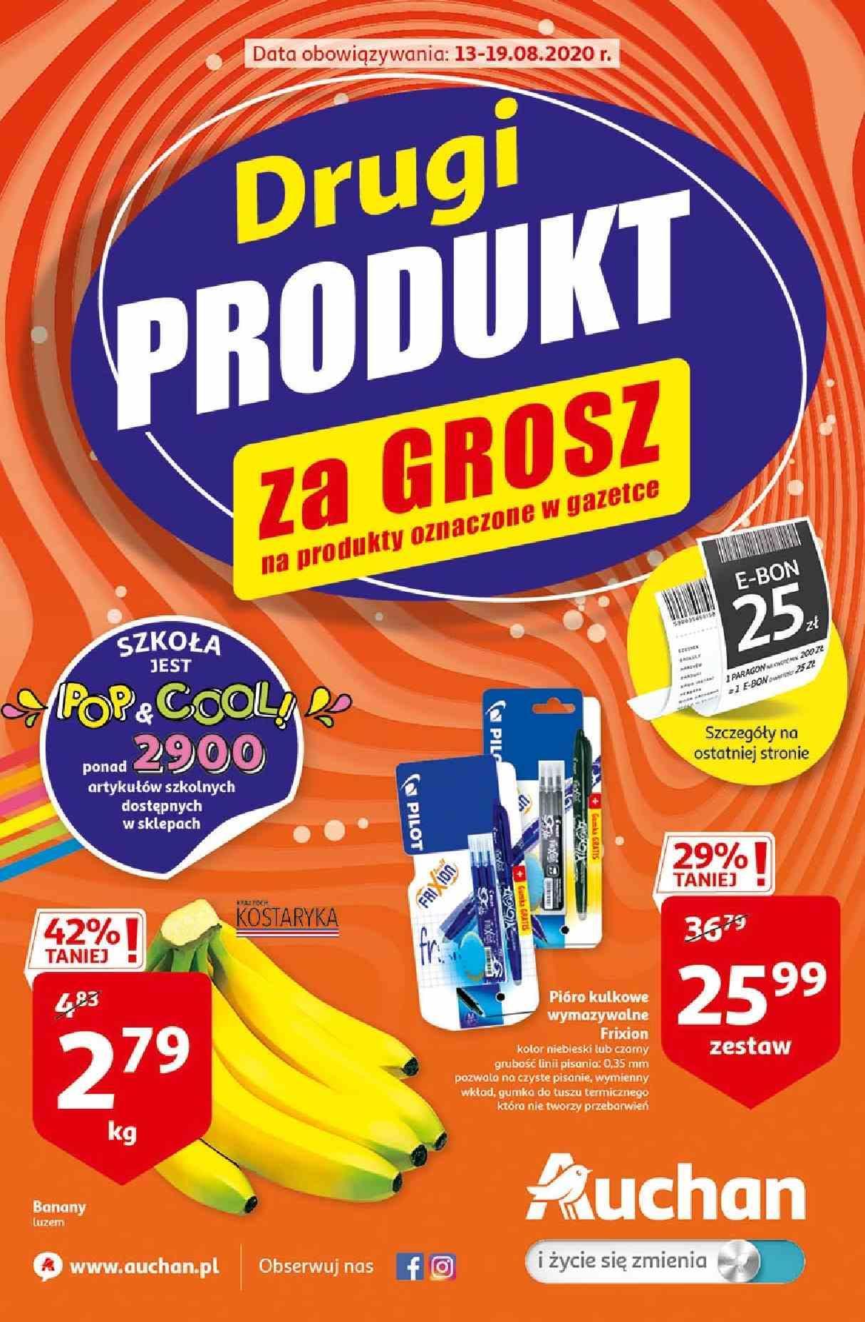 Gazetka promocyjna Auchan do 19/08/2020 str.0