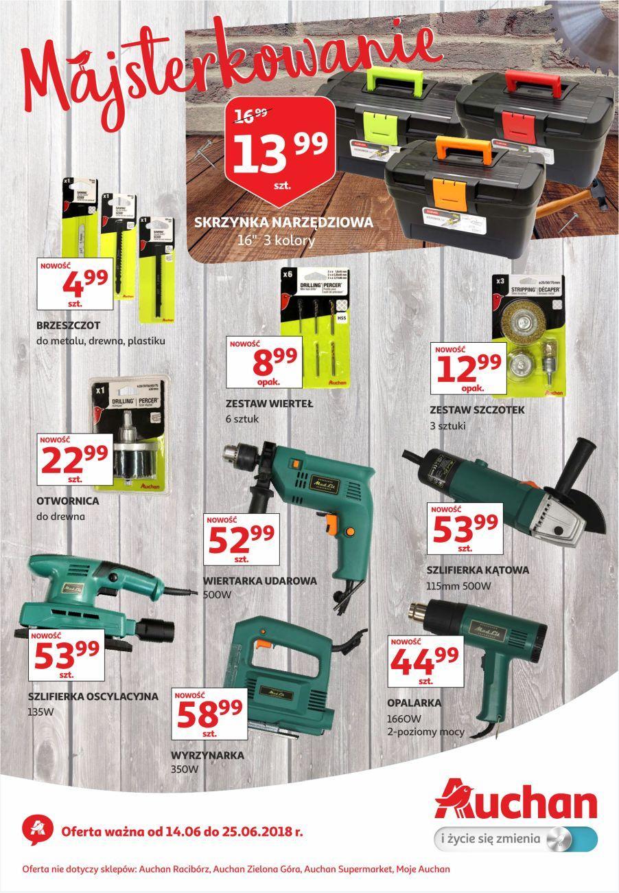 Gazetka promocyjna Auchan do 25/06/2018 str.1