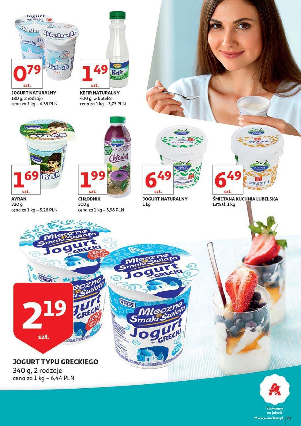 Gazetka promocyjna Auchan do 01/07/2018 str.23