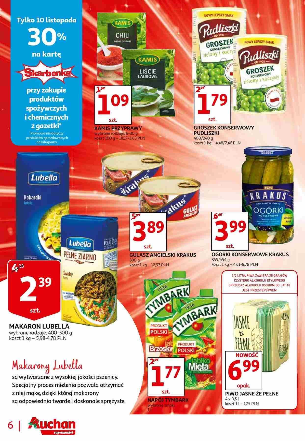 Gazetka promocyjna Auchan do 13/11/2018 str.6