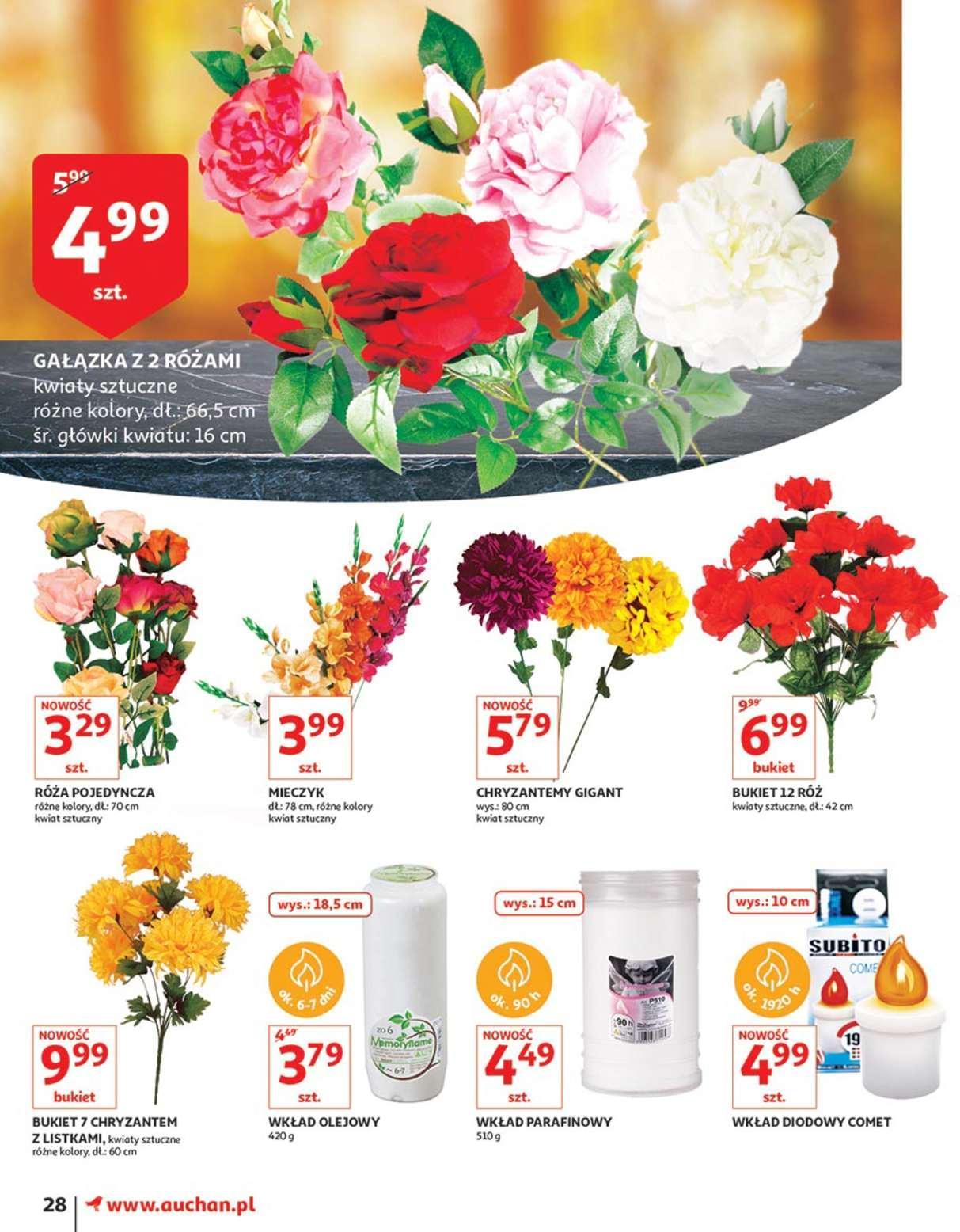 Gazetka promocyjna Auchan do 17/10/2018 str.28