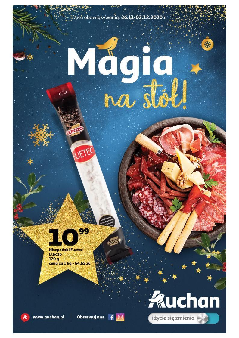 Gazetka promocyjna Auchan do 02/12/2020 str.1