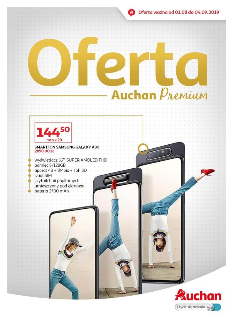 Gazetka promocyjna Auchan do 04/09/2019 str.1