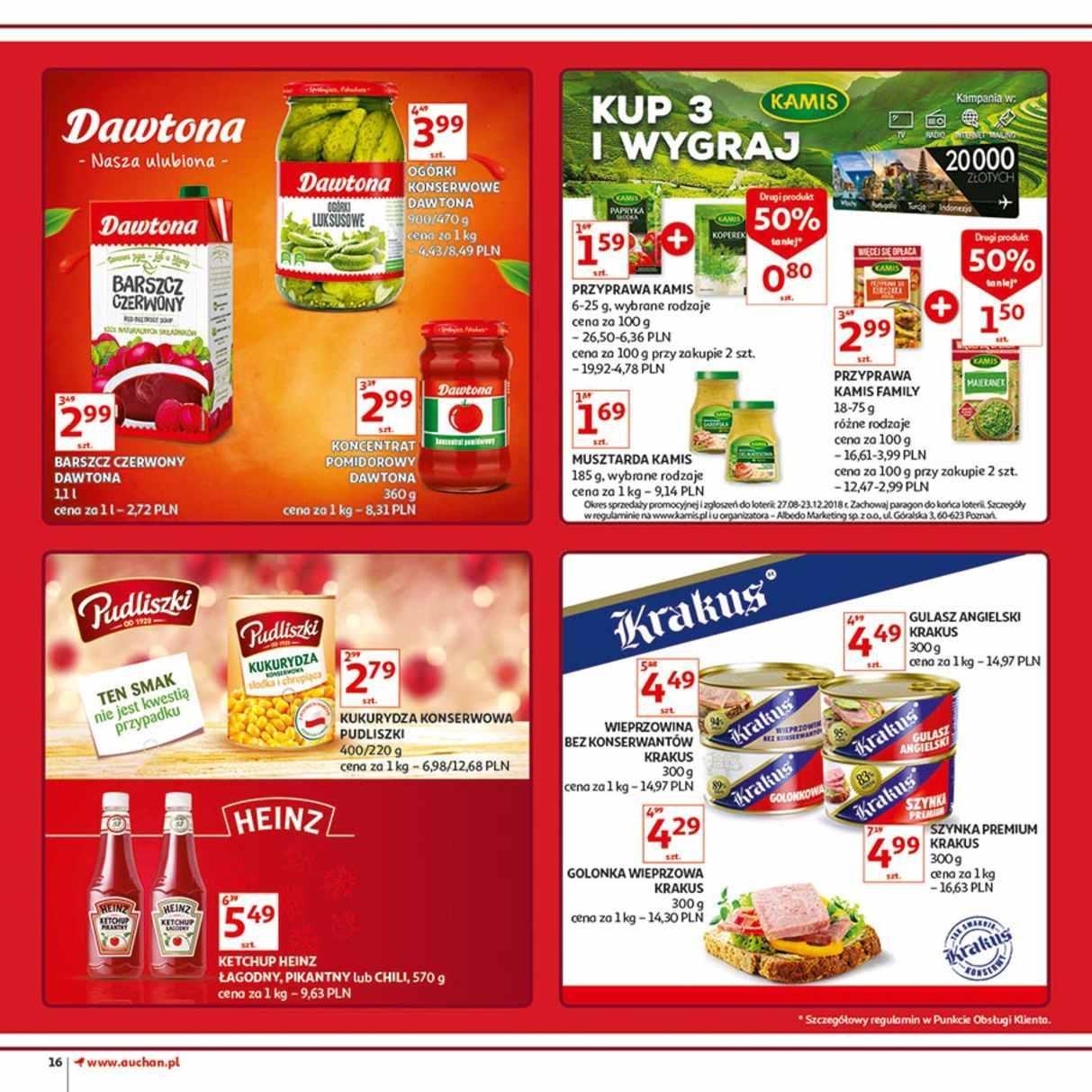 Gazetka promocyjna Auchan do 12/12/2018 str.16