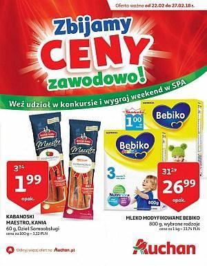 Auchan gazetka  - od 22/02/2018 do 27/02/2018