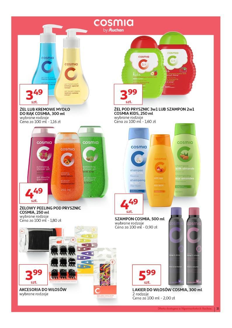 Gazetka promocyjna Auchan do 27/03/2019 str.15