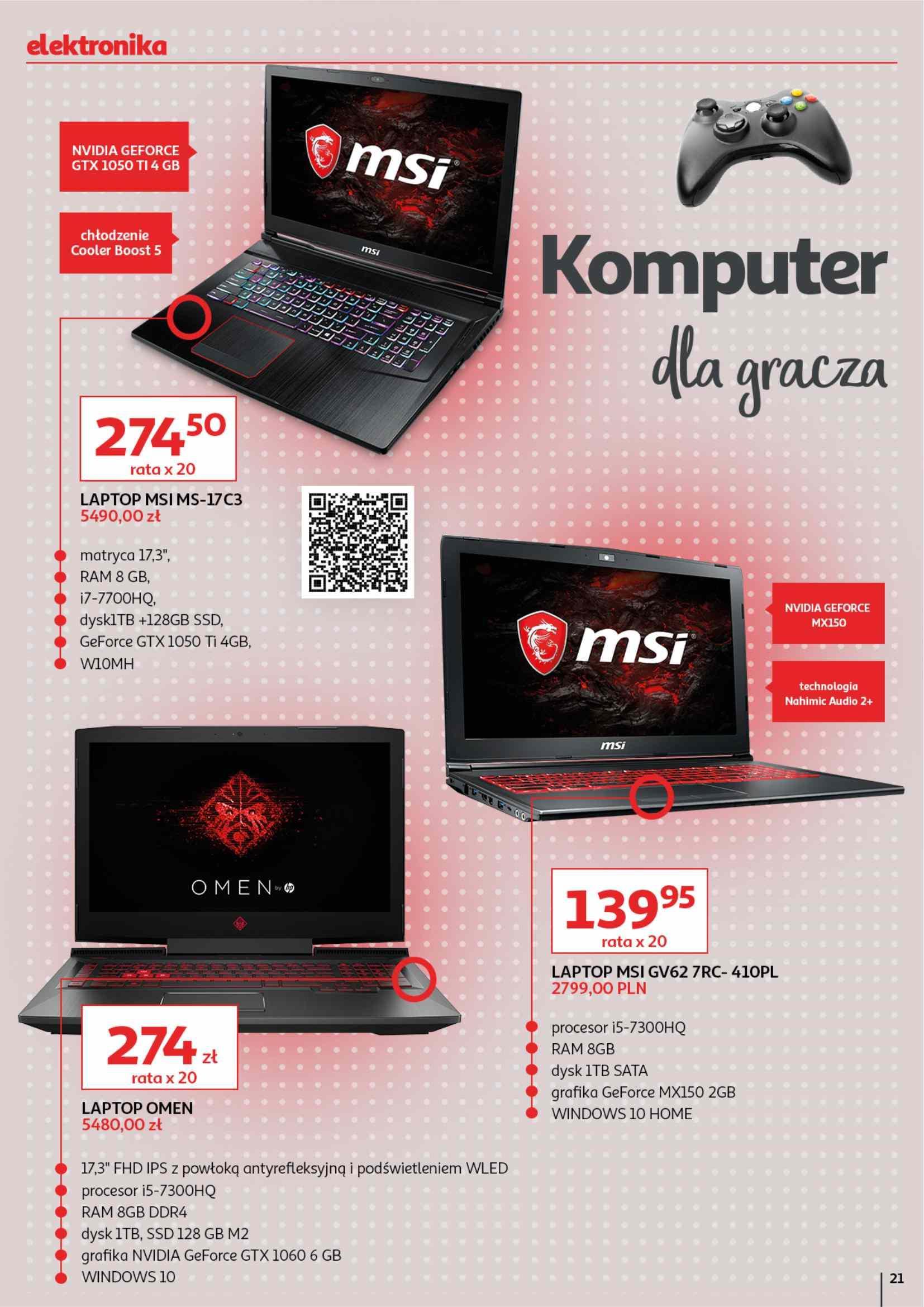 Gazetka promocyjna Auchan do 15/05/2019 str.21