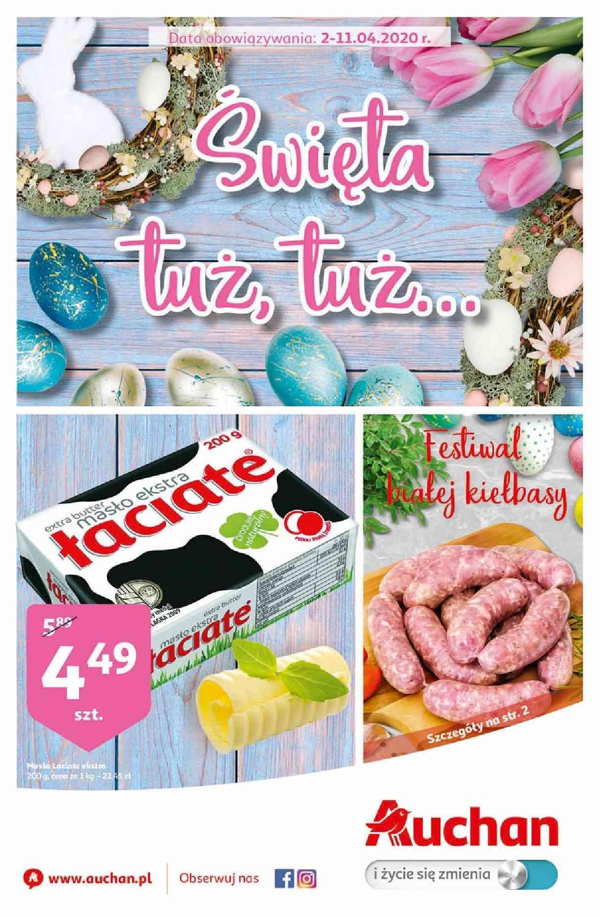 Gazetka promocyjna Auchan do 11/04/2020 str.1