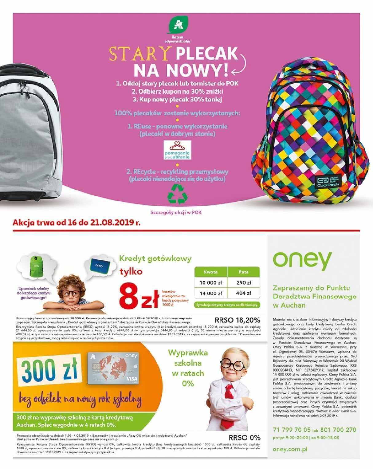 Gazetka promocyjna Auchan do 21/08/2019 str.2