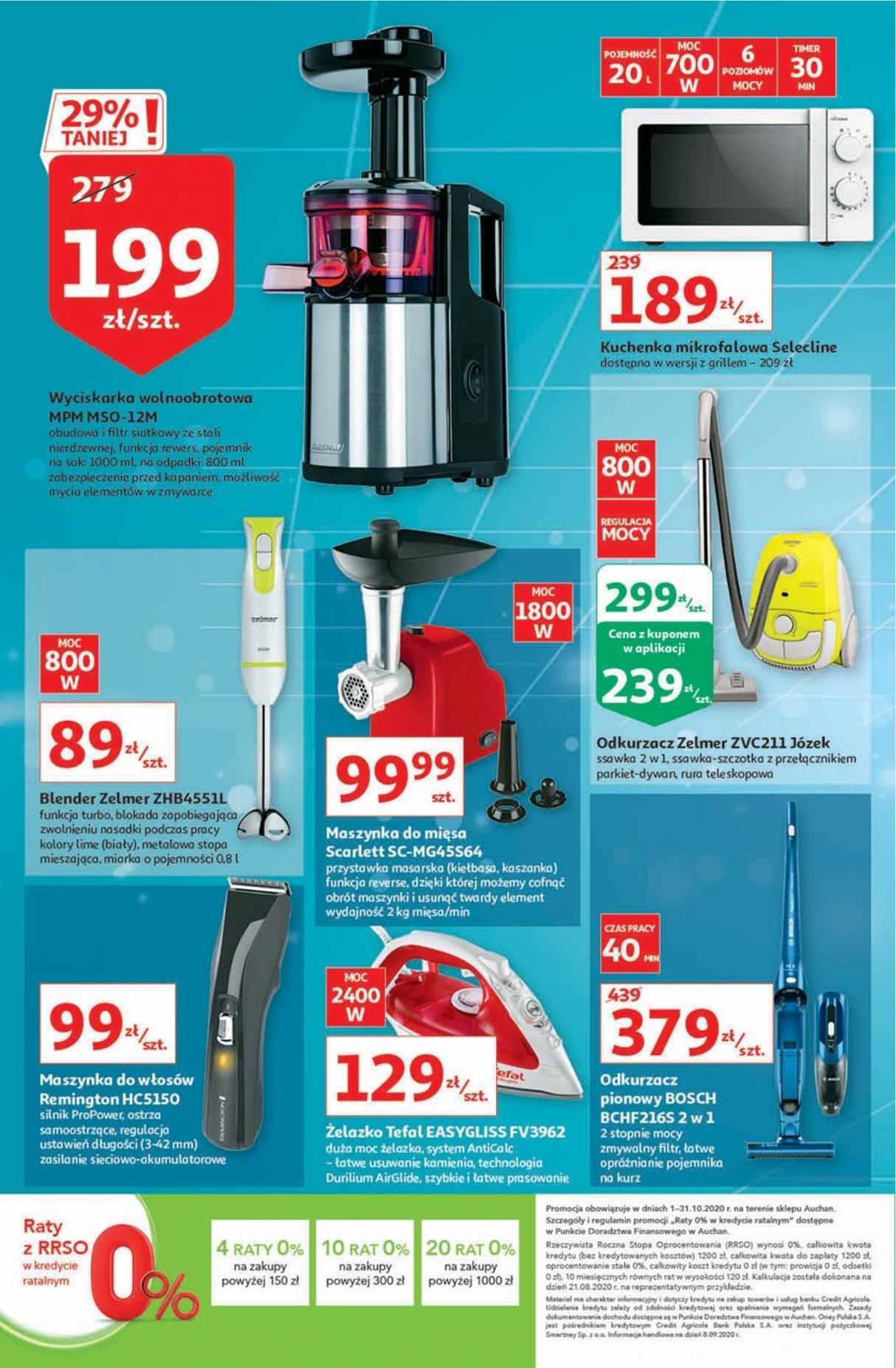 Gazetka promocyjna Auchan do 07/10/2020 str.21