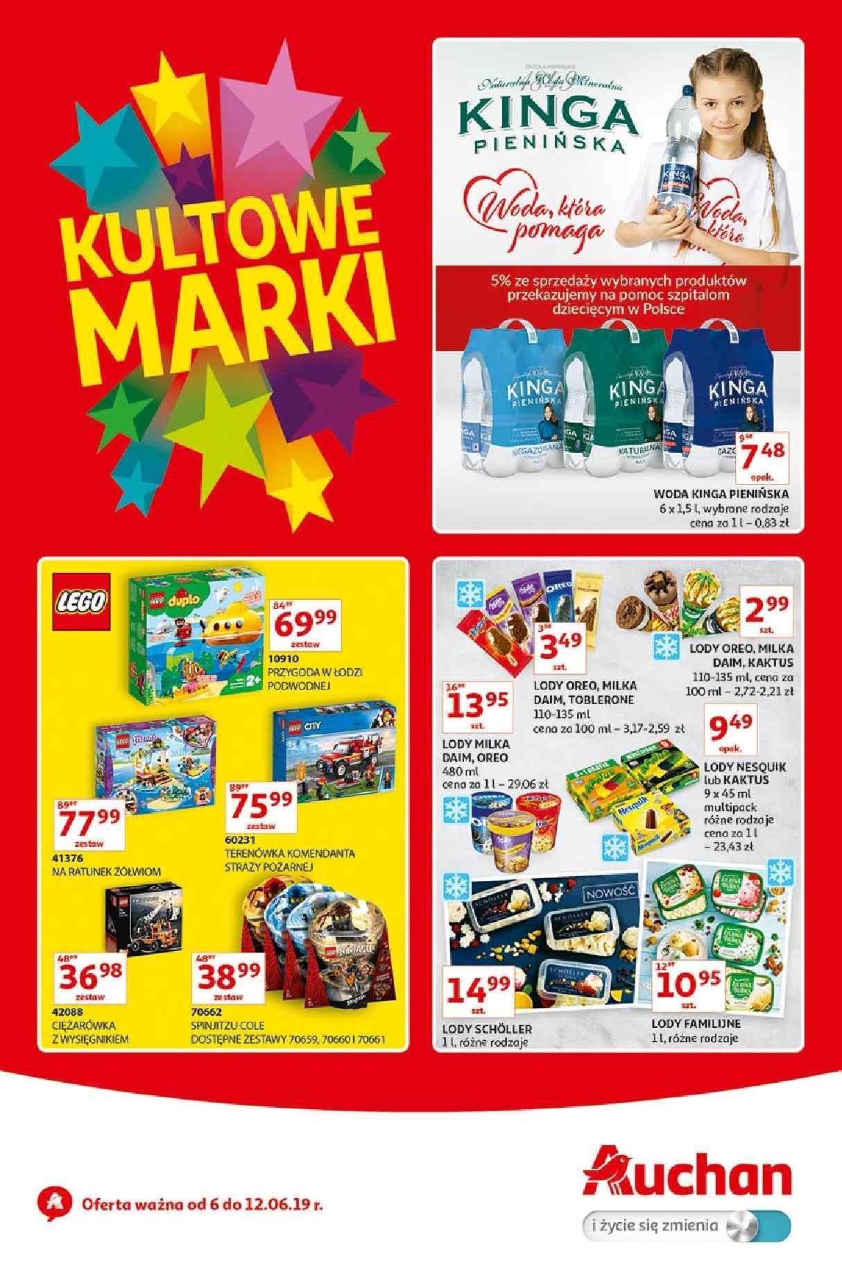 Gazetka promocyjna Auchan do 12/06/2019 str.1