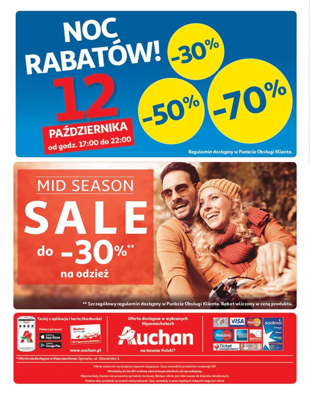 Gazetka promocyjna Auchan do 17/10/2018 str.32