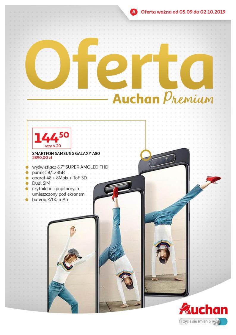 Gazetka promocyjna Auchan do 02/10/2019 str.1