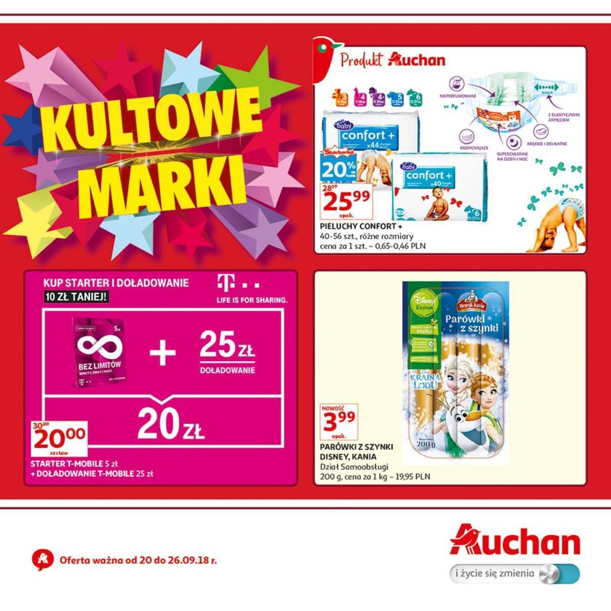 Gazetka promocyjna Auchan do 26/09/2018 str.0