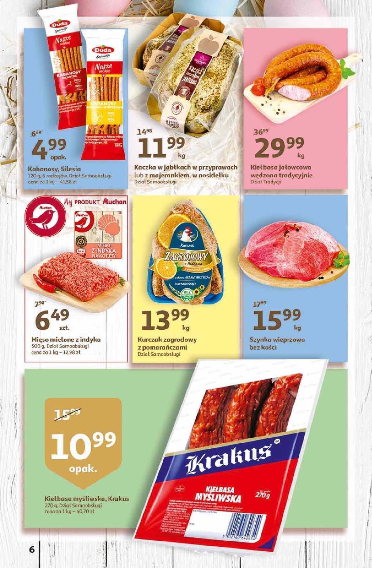 Gazetka promocyjna Auchan do 01/04/2020 str.6