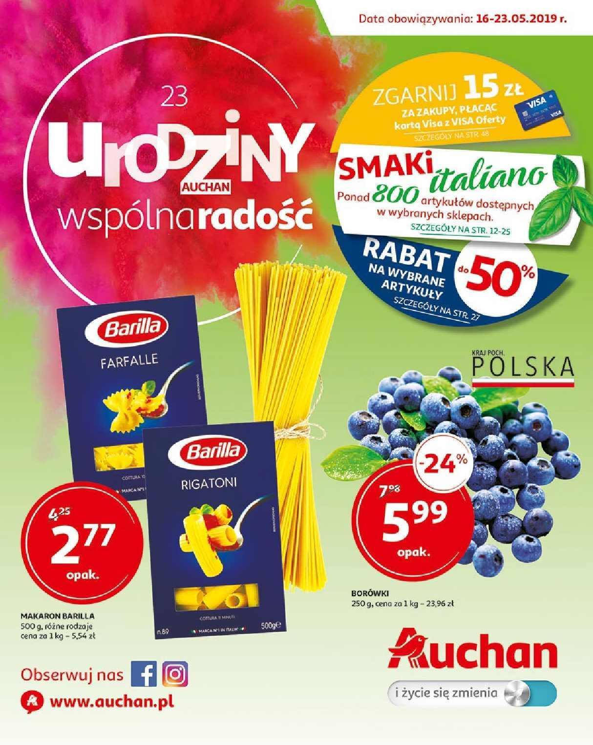 Gazetka promocyjna Auchan do 23/05/2019 str.0