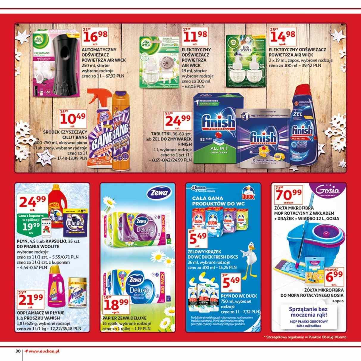 Gazetka promocyjna Auchan do 12/12/2018 str.30