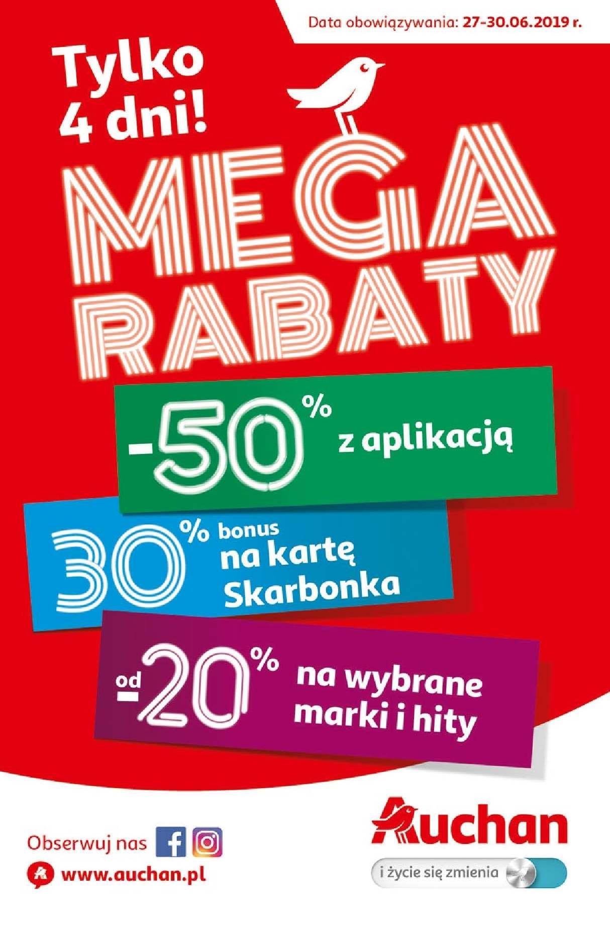 Gazetka promocyjna Auchan do 30/06/2019 str.0