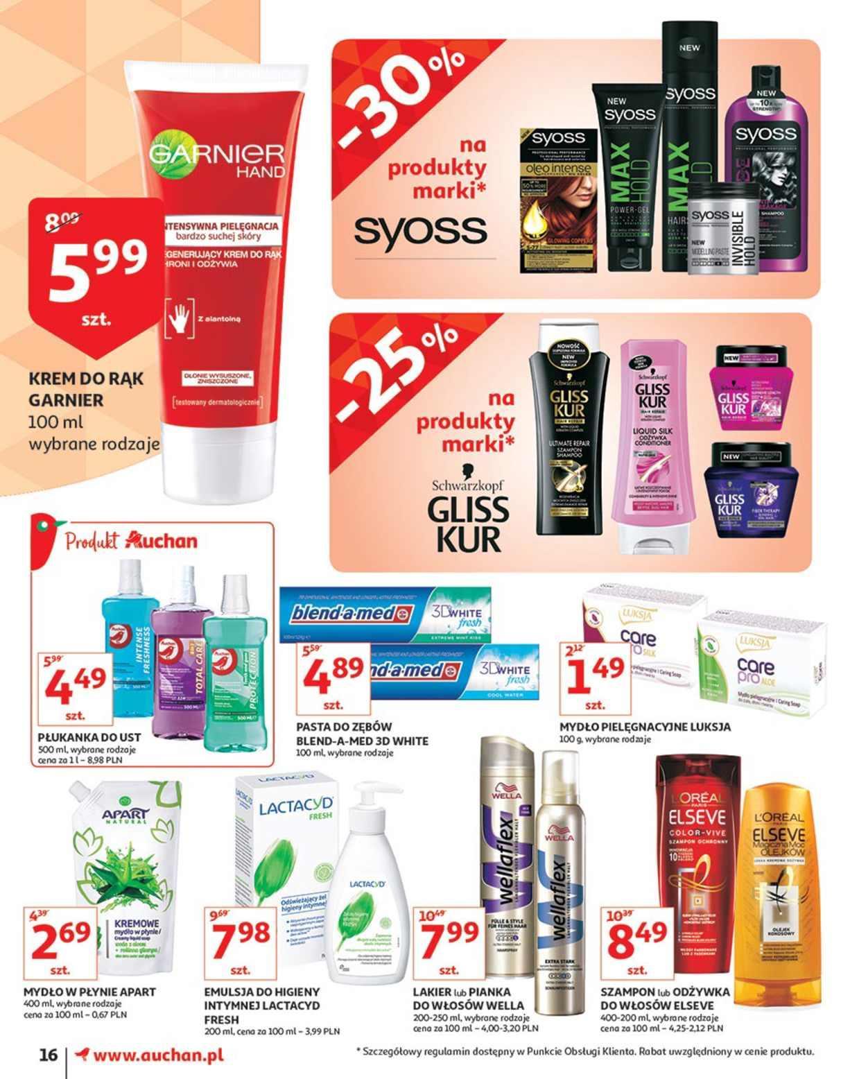 Gazetka promocyjna Auchan do 17/10/2018 str.16
