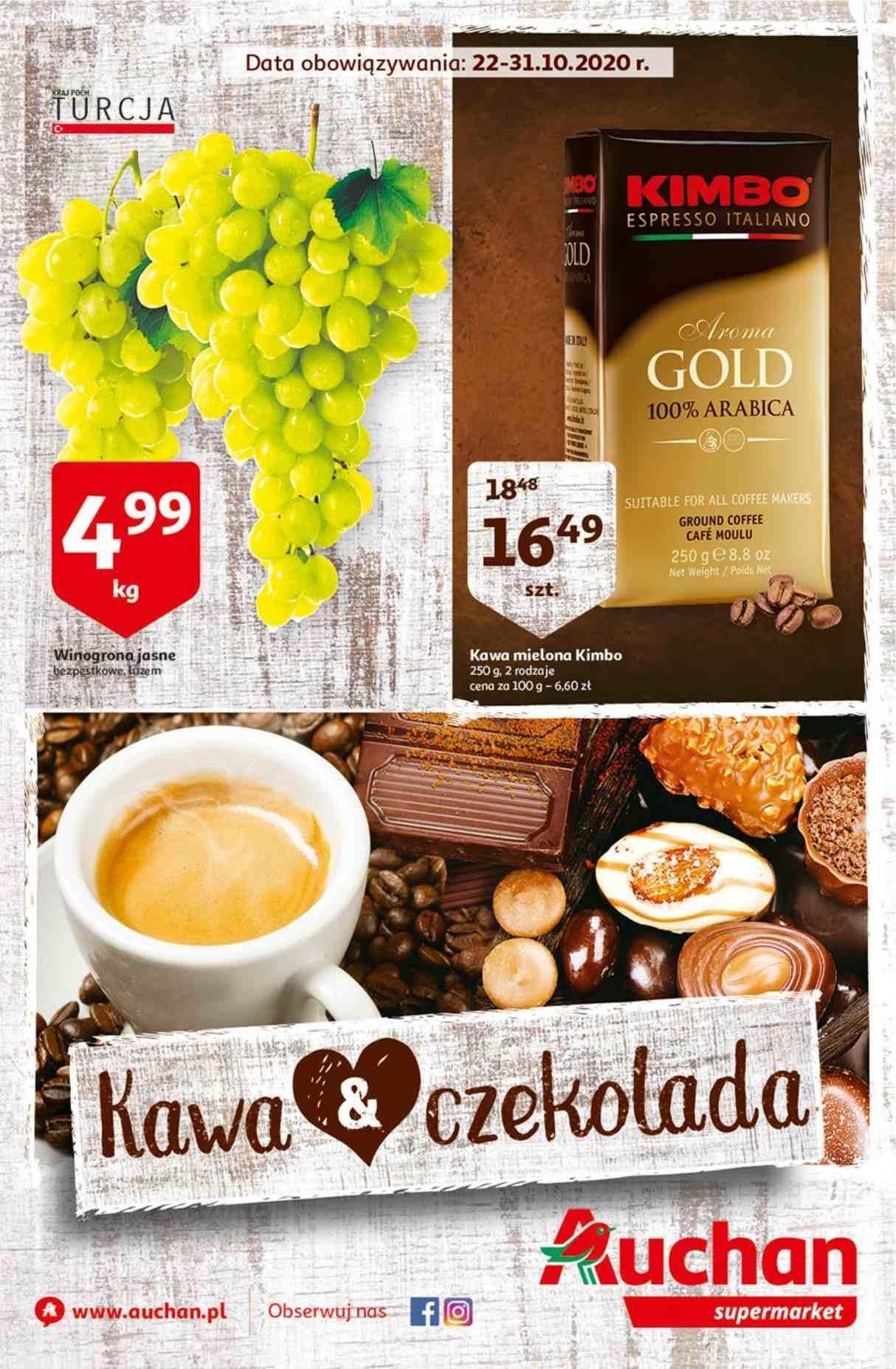Gazetka promocyjna Auchan do 31/10/2020 str.0