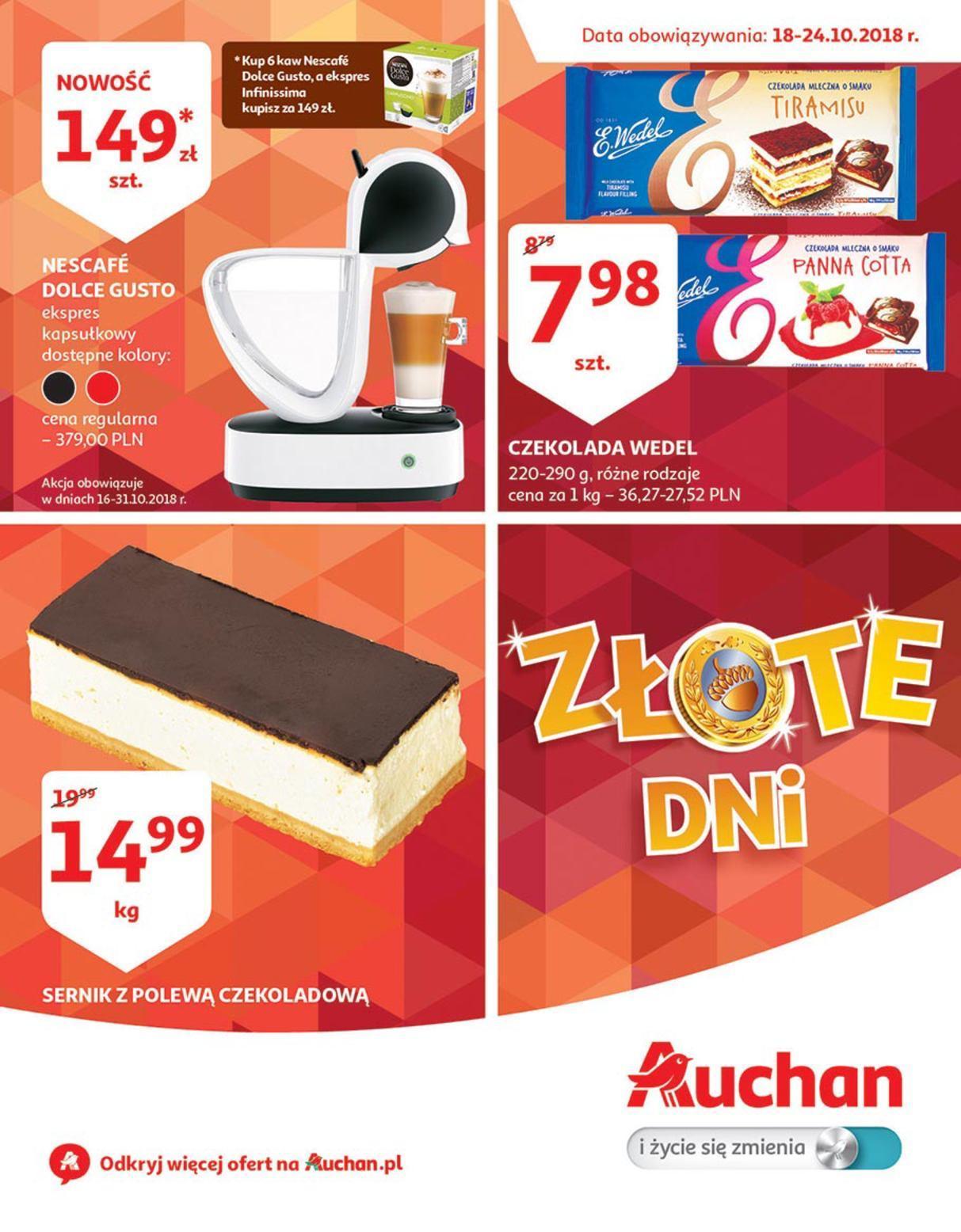 Gazetka promocyjna Auchan do 24/10/2018 str.1