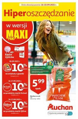 Auchan gazetka - od 16/09/2021 do 22/09/2021